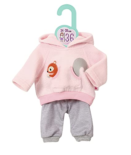 Zapf Creation 870778 Dolly Moda Sport-Outfit Pink Puppenkleidung 34-38 cm