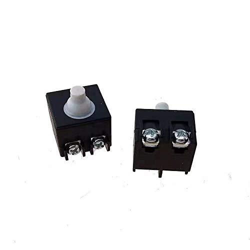 SDUIXCV GWS6 GWS7 GWS8 GWS 6 7 8 reemplazo de Interruptor de Encendido/Apagado para Bosch GWS 6-100/125 GWS 7-100/125 GWS850 Pieza de Repuesto de Amoladora Angular pequeña