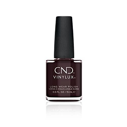 CND - Vinylux, Smalto per unghie a lunga tenuta, Dark Dahlia N. 159, 15 ml