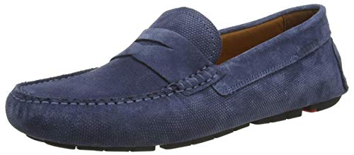 LLOYD Herren ELJOS Slipper, Blau (Jeans 8), 42.5 EU