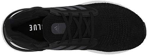 adidas Men's Ultraboost 20 Running Shoe, Black/Night Metallic/White, 10 M US 8