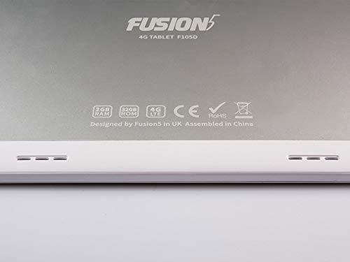 Fusion5 9.6 4G Tablet (9.6 inch, 32GB, Wi-Fi + 4G LTE + Voice Calling, 8MP Camera, Android 8.1 Oreo Google Certified Tablet PC)