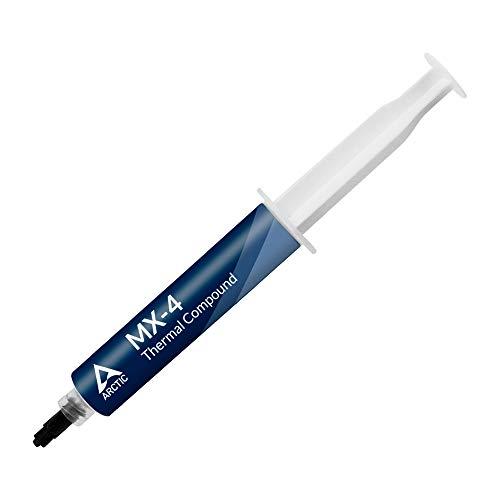ARCTIC MX-4 (45 g) - Pasta Termoconduttiva per Dispositivi di Raffreddamento, Composto per Dissipatore di Calore con Microparticelle di Carbonio, Facile Applicazione, Lunga Durata