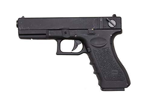 Pack Pistola Airsoft G18 Cyma-CM030S / Plástico de Alta Resistencia/Color Negro/Eléctrico (0,5 Julios) / Semiautomático/Lipo-Mossfet