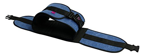 Cinturón abdominal acolchado para cama 90 cm, Cierre con hebillas, Permite la lateralización del paciente, Talla L ✅