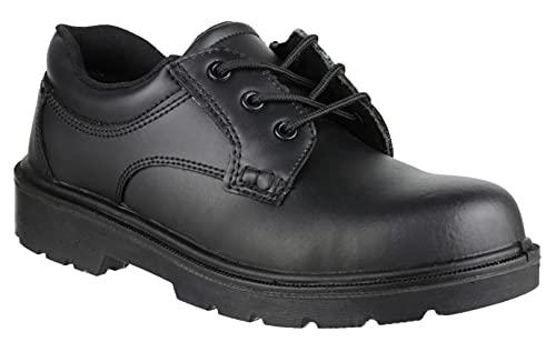 Male - Amblers Steel FS41 Safety Gibson Shoe Black Size UK 10 EU 44.5 US 10.5