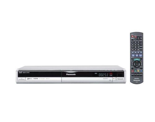 Panasonic DMR EX 77 EG DVD- und Festplatten-Recorder 160 GB (DivX-zertifiziert, Upscaling 1080i, HDMI) mit integriertem DVB-T Tuner silber