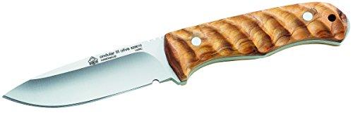 Puma IP Gürtelmesser, Olivenholz-Griffschalen Messer, Mehrfarbig, One Size