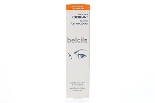 BELCILS máscara de pestañas fortalecedora negro 7 ml