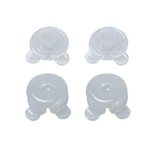 SNOWINSPRING 4 Stueck Decken Quilt Clip Fixer Haltbarer Kunststoff Frames Blatt Troester Bett Bettdecke Donuts Holders