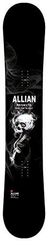 日本正規品 2018 ALLIAN アライアン スノーボード 板 PRISM LIMITED LTD 155 プリズムインビジブル 17-18