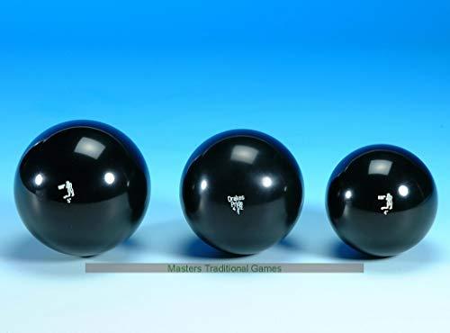 Drakes Pride 3 Black phenolic Resin Skittle Balls - 4 inch