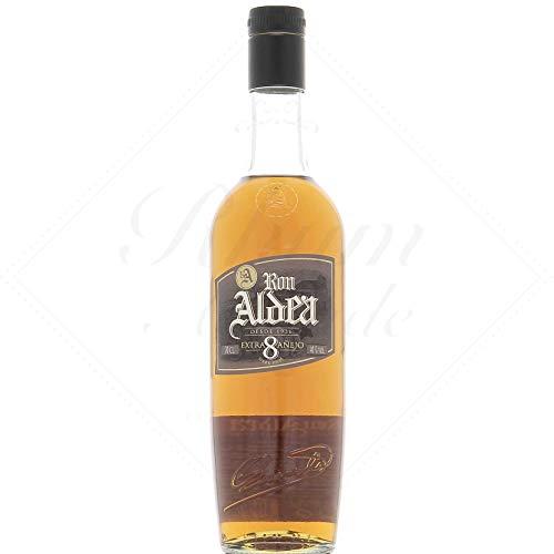 Ron Aldea Extra Anejo 8 Jahre 0,7 Liter 40{a33e89b619200e91b0e2fd695933984aed5b6fb8a8151cf8958cb3c29495aad0} Vol.