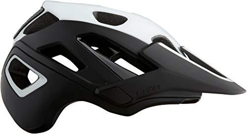 Lazer Unisex Casco Jackal MIPS Helm, Weiß/Schwarz (Mehrfarbig), L