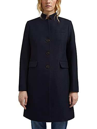 Esprit 991ee1g311 Jacket, Bleu Marine, L Femme