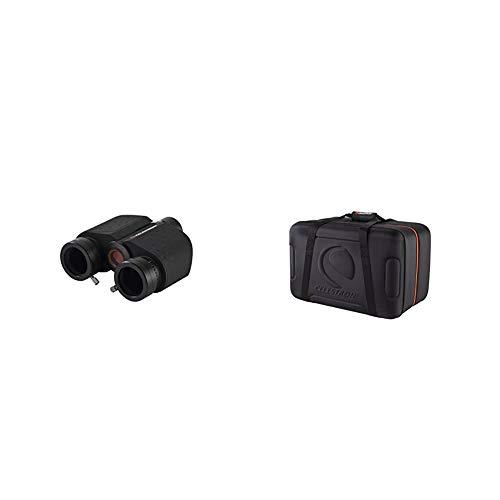 """Celestron Stereo Binocular Viewer for Telescopes & Telescope Carrying Case for NexStar Optical Tubes - Fits 4"""", 5"""", 6"""" and 8"""" Optical Tubes - NexStar SE, Evolution, Schmidt-Cassegrain"""