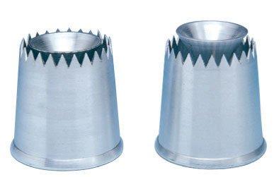 Douille sultane haute, aluminium