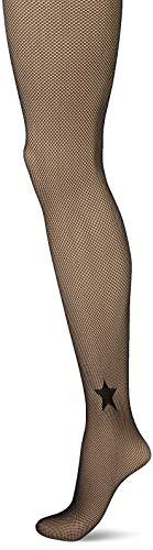 Dim 09T0 Collant Style Resille ETOILEE Agnes B, Noir, 1/2 Womens