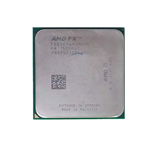Used AMD FX-8300 FX8300 Desktop CPU Socket AM3+ 938 pin 95W 3.3GHz 8MB 8-cores