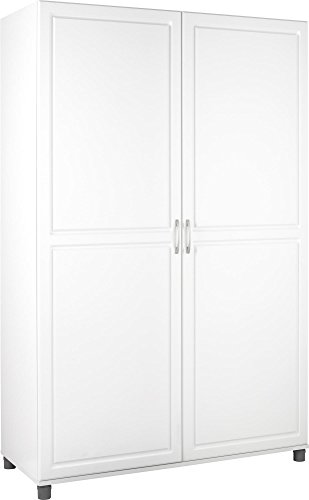 Ameriwood Kendall Wardrobe Storage Cabinet 48' White