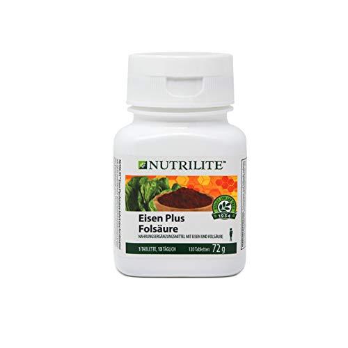 Eisen Plus Folsäure NUTRILITE™ - 120 Tabletten / 72 g - Amway - (Art.-Nr.: 100295)