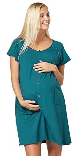 HAPPY MAMA Mujer Premama Amamantamiento Hospital Vestido Camisa Noche 1029