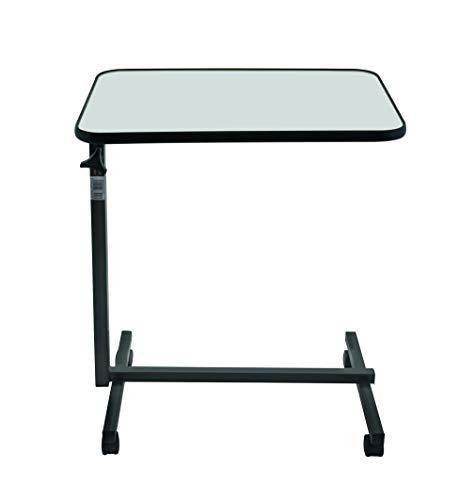 Beistell-Tisch Pflegebett Serviertisch Krankentisch Betttisch STANDARD grau