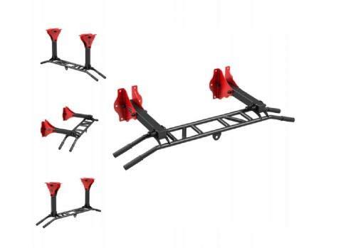 QLS Klimmzugstange Marbo Reckstange Multigriff Pull Up Klimmzug Stange Fitness Wand Decke