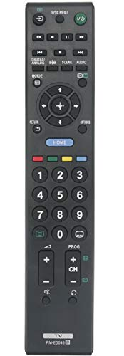 ALLIMITY RM-ED046 Control Remoto reemplazado por Sony Bravia TV KDL-22CX32D KDL-26BX320 KDL-32BX320 KDL-32BX420 KDL-32EX310 KDL-40BX420 KDL-42EX410