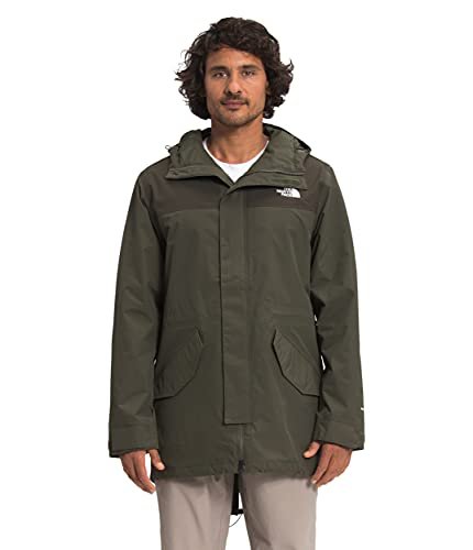 The North Face Men's City Breeze Rain Parka, New Taupe Green/New Taupe Green 1D, S