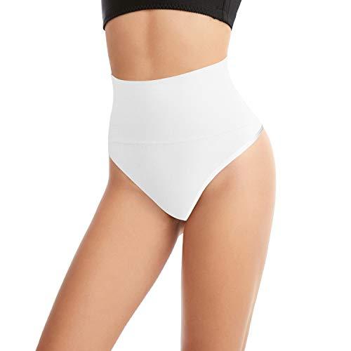 L&K-II - Body - Básico - para mujer, blanco, Large