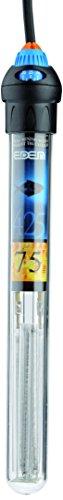 EDEN 57349 425 75 Regelheizer für 75 Liter - Aquarienheizer mit Thermostat und Montagehalterung zur Regulierung der Temperatur in Süß- und Meerwasseraquarien und Paludarien