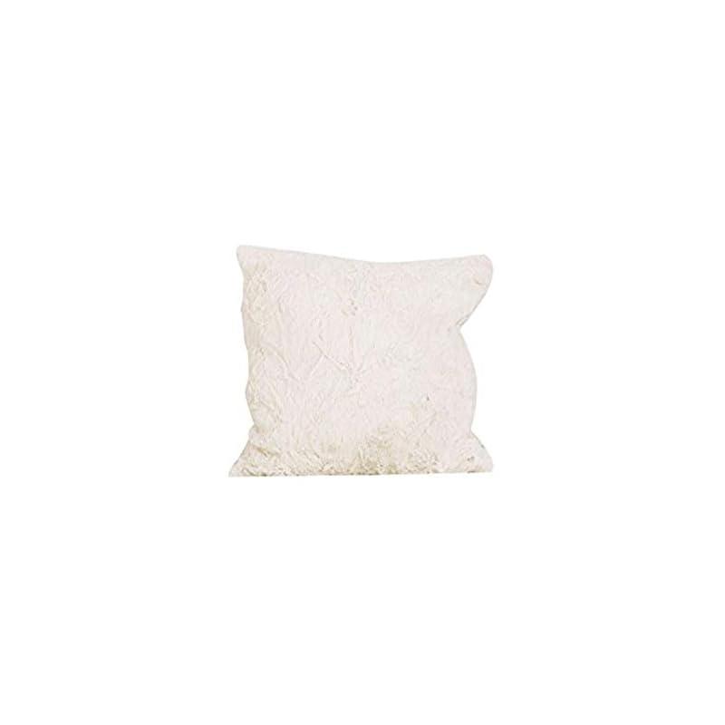 crib bedding and baby bedding cotton tale designs dot faux fur decor pillow, raspberry