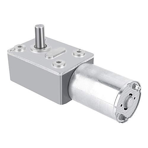 DC 12V Motor Reversible Hochdrehmoment Turbo Schnecke Getriebe Gleichstrommotor Geschwindigkeitsreduzierung Elektromotor Total Metall 5/6/20/40/62 (U/MIN)(5RPM)