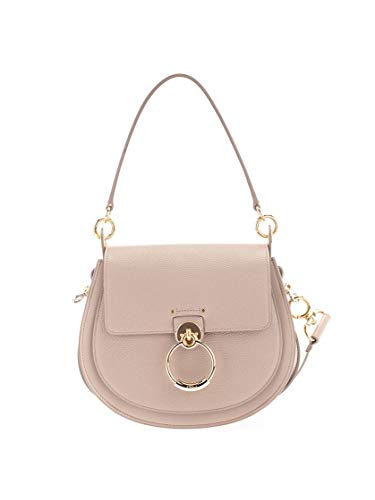 Luxury Fashion | Chloé Dames CHC19WS15294423W Roze Leer Handtassen | Lente-zomer 20