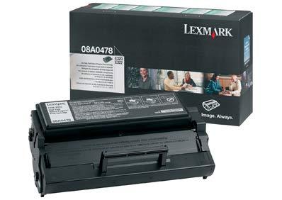08A0478 Lexmark E320 Cartucho de Tóner negro