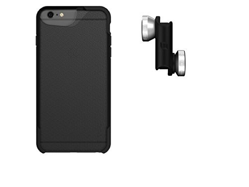 Olloclip OC-0000113-EU - Pack de funda y lente para Apple iPhone 6 Plus/6S Plus, multicolor