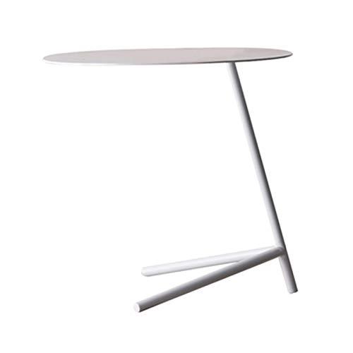 LXZ#Homegift salontafel nordic smeedijzeren bank bijzettafel driehoek beugel ronde salontafel bureau computer bureau kantoor slaapkamer studiekamer, H55cm