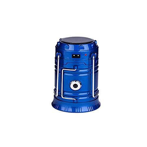 BALALALA Lanternes de Camping, Lampe Rechargeable Pliable d'USD LED avec la Tente de pêche de Banque de Puissance et l'urgence extérieure-Bleu