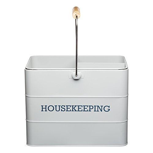 Kitchen Craft Living Nostalgia 33 cm Housekeeping Caja, French Gris