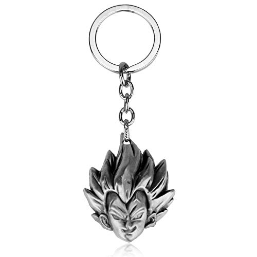 Portachiavi–Naruto testa scultura super cool Key Ring for Man Dragon Ball Head Key Chain donna portachiavi 1PCS–by Ypt–1pz Evelina