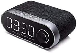 سماعات راديو ريماكس إف إم متعددة الوظائف بلوتوث ساعة منبه مزدوجة تدعم بطاقة TF مشغل بطاقة USB صوت مكبر صوت محمول، RB-M26