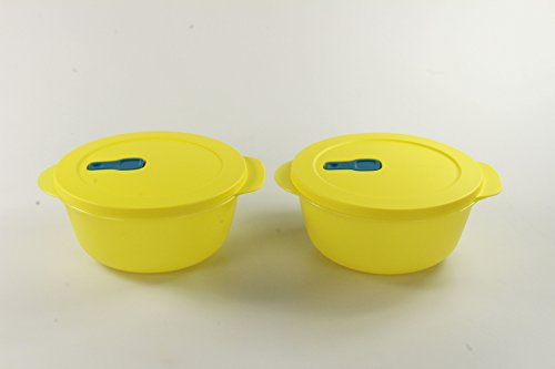 Tupperware Microonde Cryst alwave 1,5L Giallo (2) Micro Wave Pop Fix Plus P 23334