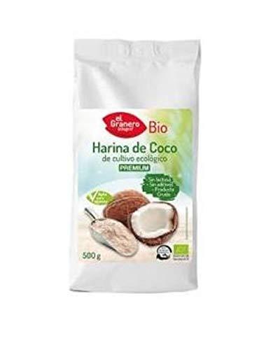 Harina De Coco Bio 500 Gr Envase De 500 Gramos 500 g