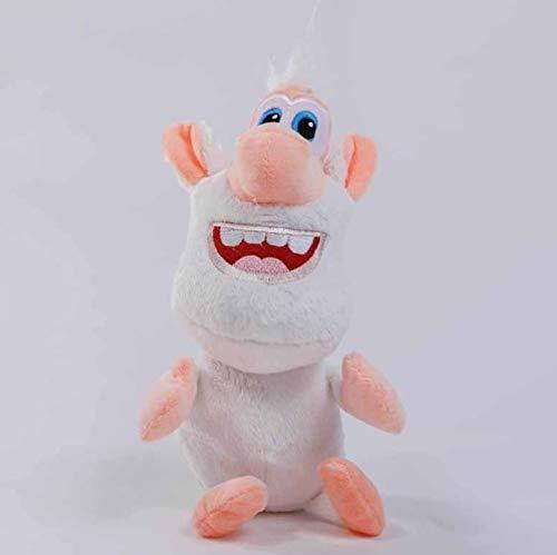 lili-nice Plüschtiere Russische Karikatur Booba Buba Weißes Schwein Cooper Puppe Weiche Gefüllte Puppe Für Kinder Geburtstag 30Cm