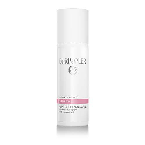 Dr. Rimpler Gel de limpieza suave I para piel sensible I Limpiador facial con manzanilla calmante, sin espuma 200ml