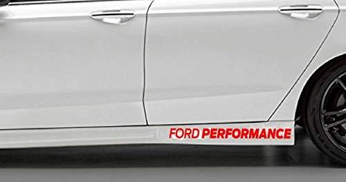 myrockshirt kompatibel für Ford Performance Schweller ca 30 cm Aufkleber,Sticker,Decal,Autoaufkleber,UV&Waschanlagenfest,Profi-Qualität