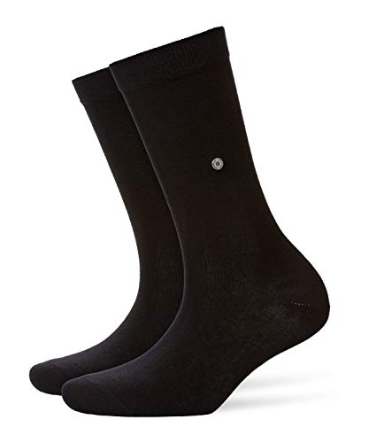 Burlington Damen Lady W SO Socken, 1er Pack, Schwarz (Black 3000, 36-41
