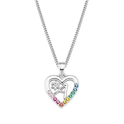 Prinzessin Lillifee Silber Kinder-Halskette Herz A 2027876