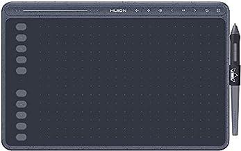 Nieuwe 2020-tekentablet HUION HS611-tekentabletten met kantelfunctie Batterijloze pen PW500 en multimediatoetsen voor acht...